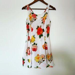 Vintage Victoria's Secret floral spring sun dress